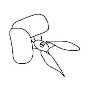 Bard HVAC Air Conditioner Fan Blade