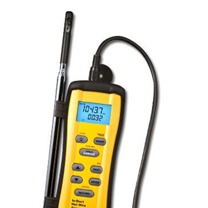 fieldpiece instruments hvac/r system in-duct hot wire anemometer redirect to product page